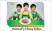 View Hormel's China video ad.
