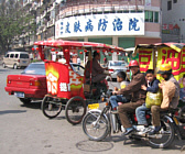 Taxi's in China. Three type taxi's, the cultural contrast...